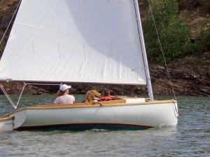 14 foot Stur-Dee cat Marconi rig catboat